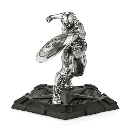 Royal Selangor Marvel Figurine - Captain America First Avenger
