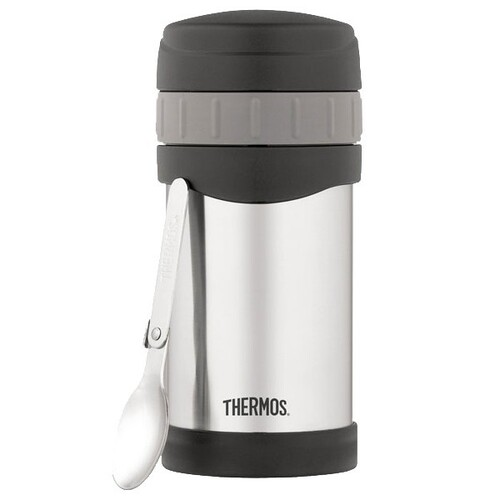 Thermos Wide Mouth Food Jar With Spoon 470ml