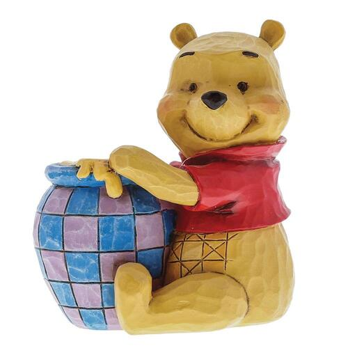 Jim Shore Disney Traditions - Winnie the Pooh with Honey Pot Mini Figurine