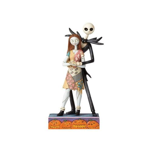 Jim Shore Disney Traditions - The Nightmare Before Christmas Jack and Sally Fated Romance Figurine