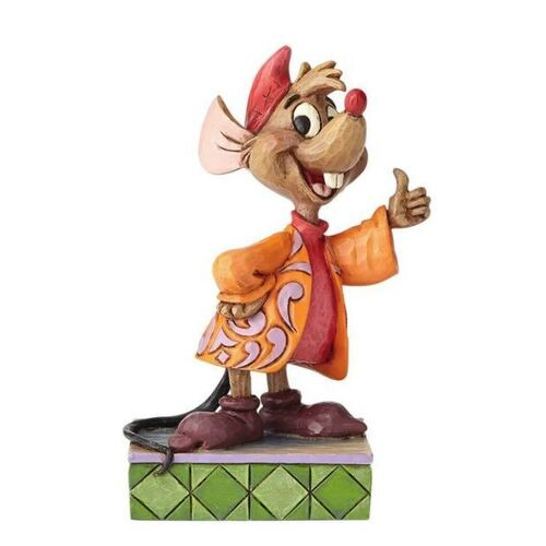 Jim Shore Disney Traditions - Jaq Personality Pose Thumbs Up! Figurine