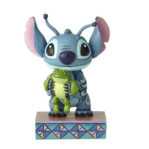 Jim Shore Disney Traditions - Stitch Personality Pose Strange Life-Forms Figurine