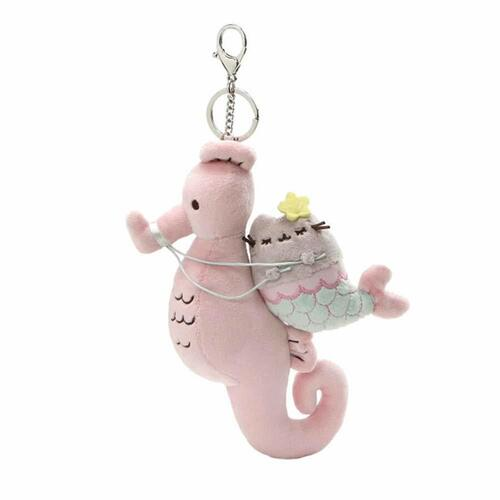 Pusheen Deluxe Backpack Clip Pusheen Mermaid Pusheen & Seahorse