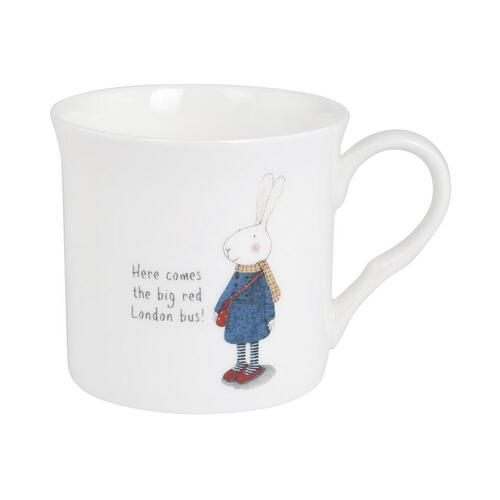 Ruby Red Shoes Mug - London Red Bus