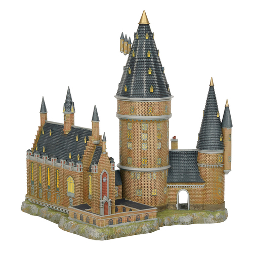 Harry Potter Village - Hogwarts Great Hall and Tower