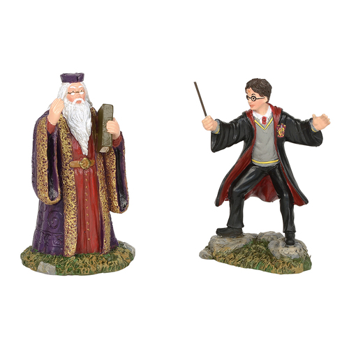 Harry Potter Village - Harry And The Headmaster