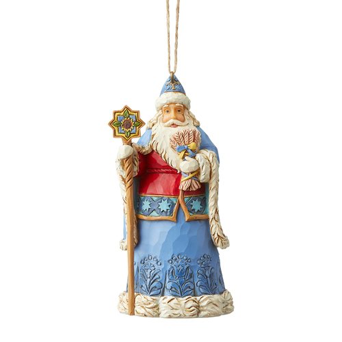 Heartwood Creek Santas Around The World  - Ukraine Santa Hanging Ornament