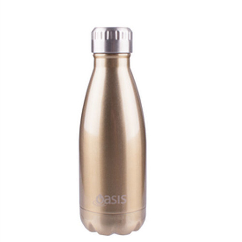 Oasis Insulated Drink Bottle - 350ml Champagne