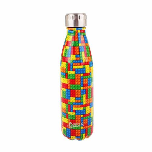 Oasis Insulated Drink Bottle - 500ml Bricks