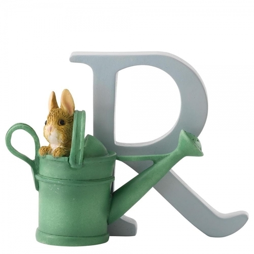 Beatrix Potter Alphabet - R - Peter Rabbit in Watering Can