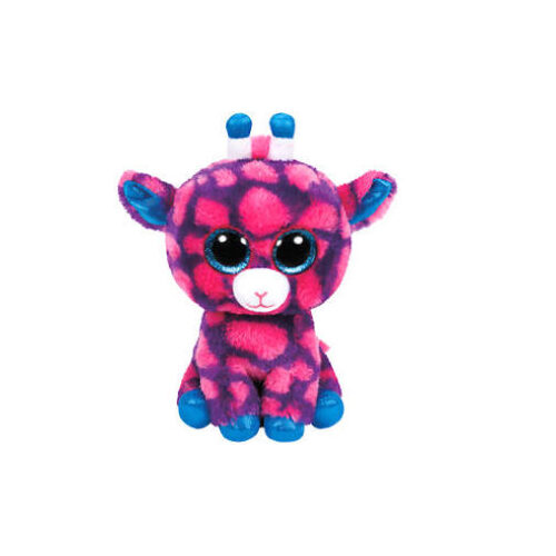 Beanie Boos - Sky High Pink & Purple Giraffe Regular