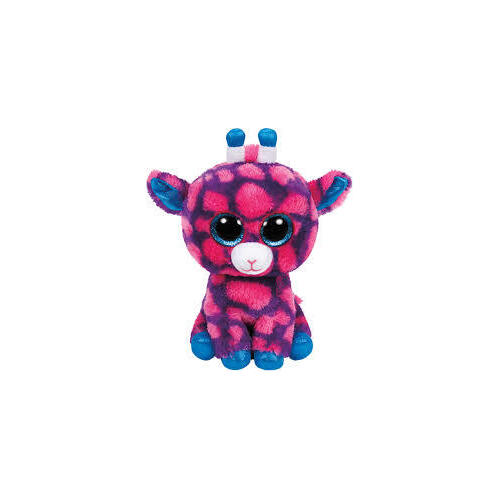 Beanie Boos - Sky High Pink & Purple Giraffe Medium