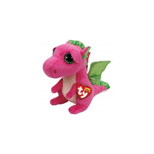 Beanie Boos - Darla the Pink Dragon Medium