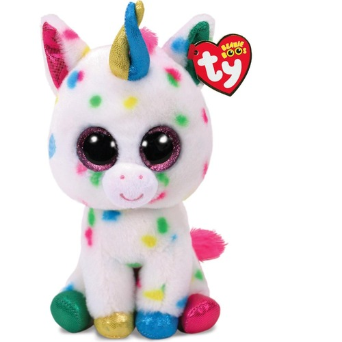 Beanie Boos - Harmonie the Speckled Unicorn Medium