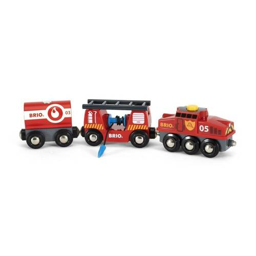 BRIO World Vehicle - Rescue Firefighting Train