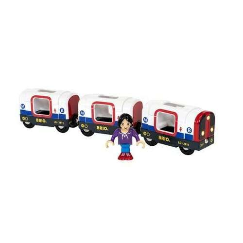BRIO World Train - Metro Train with Sound & Lights