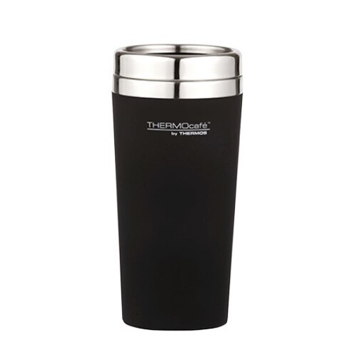 Thermos Thermocafe Travel Tumbler 420ml Matte Black