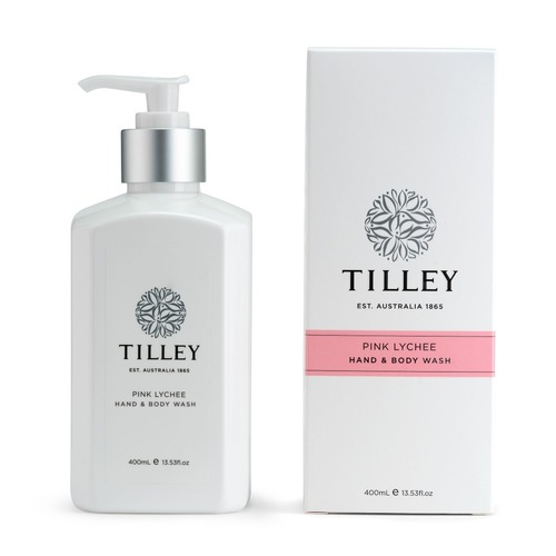 Tilley Body Wash - Pink Lychee 400ML