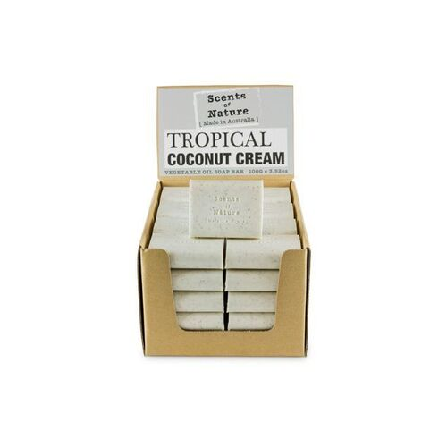 Scents of Nature by Tilley Soap Bar - Tropical Coconut Cream