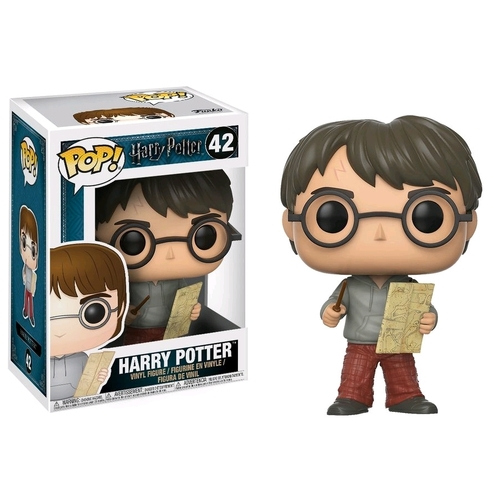 Pop! Vinyl - Harry Potter - Harry with Marauders Map