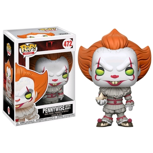 Pop! Vinyl - It (2017) - Pennywise (with Boat)