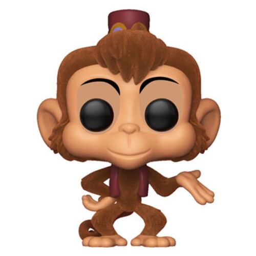 Pop! Vinyl - Disney Aladdin - Abu Flocked US Exclusive