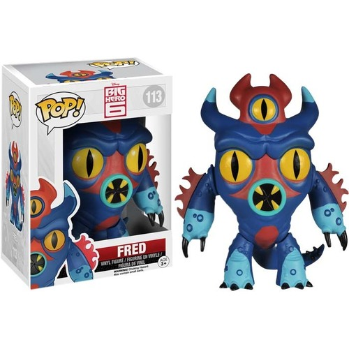 Pop! Vinyl - Big Hero 6 - Fred