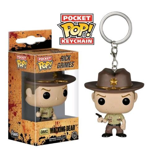 Pop! Vinyl Keychain - The Walking Dead - Rick Bloody US Exclusive