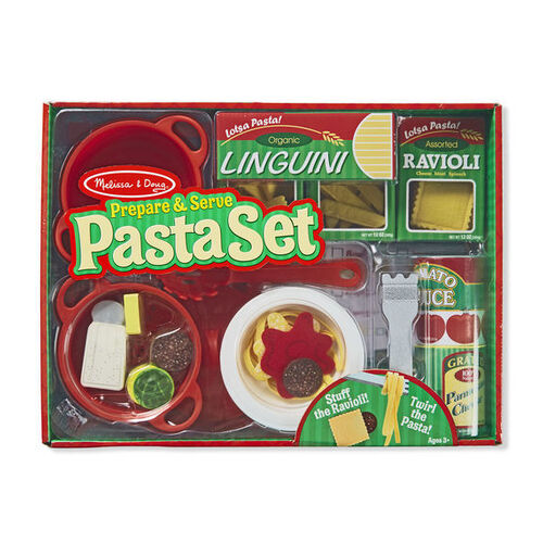 Melissa & Doug Kitchen Play - Prepare & Serve Pasta Set