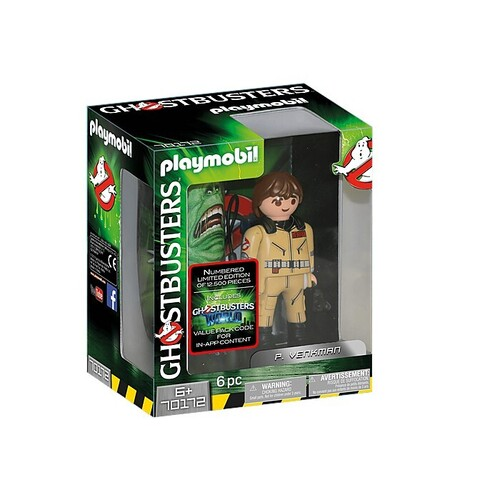 Playmobil Ghostbusters - Collection Figure P. Venkman