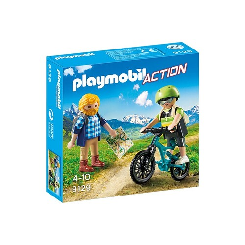 Playmobil Action - Biker and Hiker