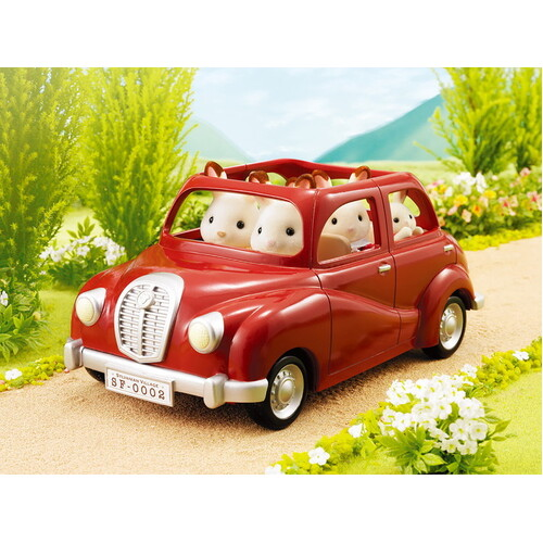Sylvanian Families - Family Saloon Car - Red