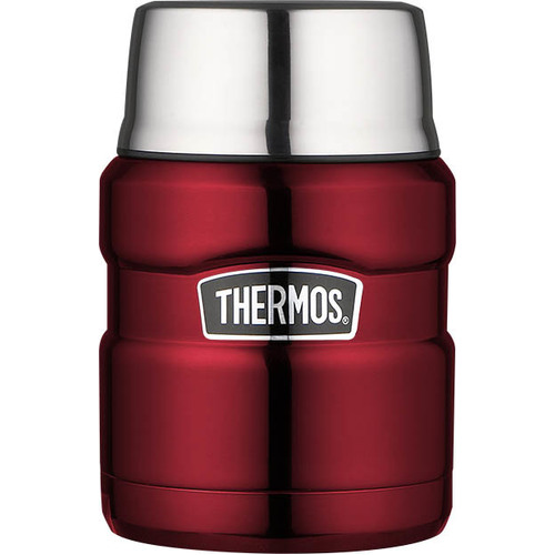 Thermos Stainless King Food Jar 470ml Red
