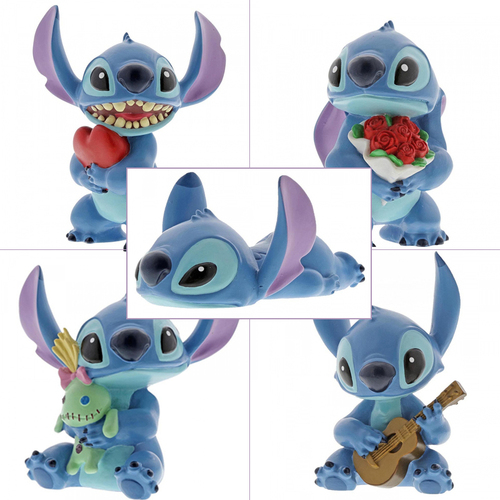 Disney Showcase - Stitch Hugs - Complete Set of 5