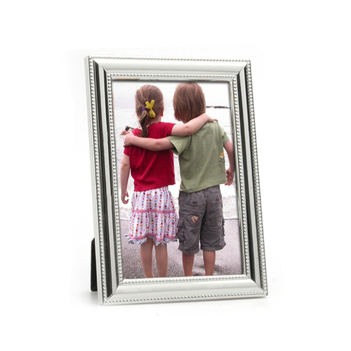 Whitehill Silver Plated Photo Frame - Beaded 10x15cm