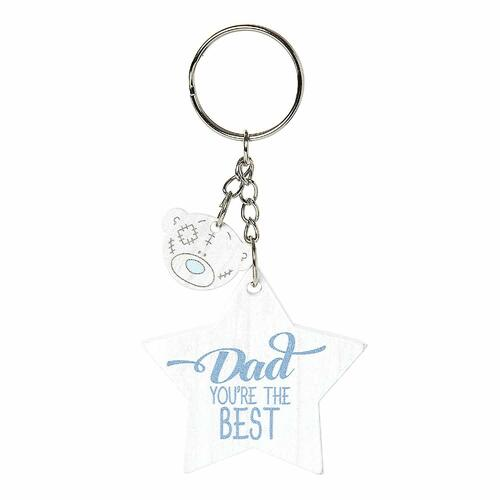 Tatty Teddy Me To You Fathers Day - Keyring Dad You're The Best
